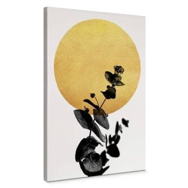 Tableau sur toile Kubistika - La vie en rose