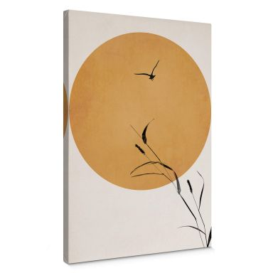 Canvas Kubistika - Sunrise Bird