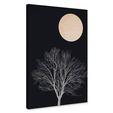 Canvas Print Kubistika - Midnight