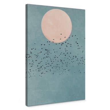 Canvas Kubistika - Moon