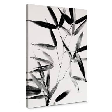 Tableau en toile Kubistika - Silhouette de la nature