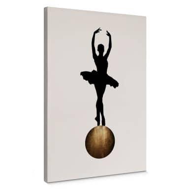 Leinwandbild Kubistika - Prima Ballerina