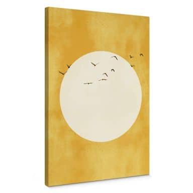 Canvas Print Kubistika - Sunshine