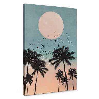 Canvas Kubistika - Sunset