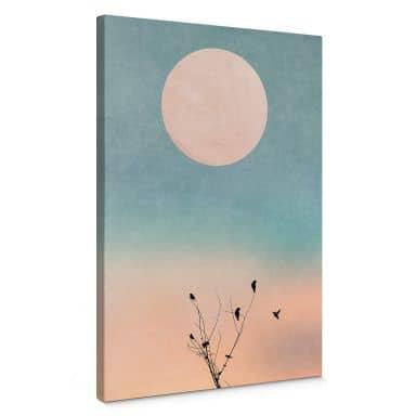 Canvas Print Kubistika - Warm Morning