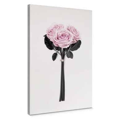 Tableau sur toile Kubistika - Roses sauvages