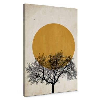Canvas Print Kubistika - Winter Morning