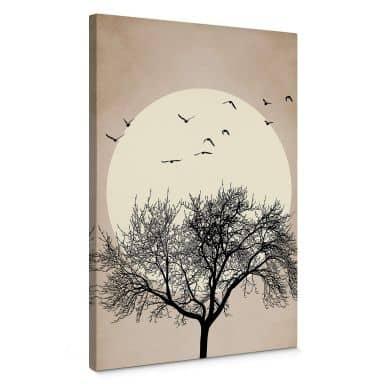 Canvas Kubistika - Dreaming of Winter