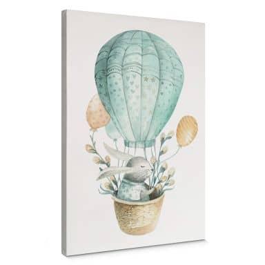 Canvas Kvilis - Haasjes in Ballon