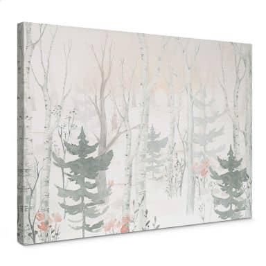 Canvas Kvilis - In het Bos