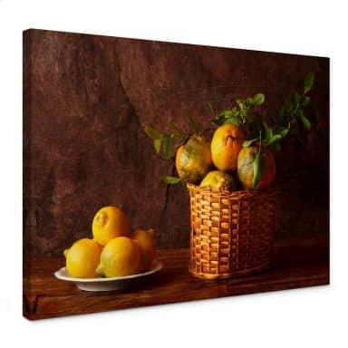 Laercio - Farmers Lemons Canvas print