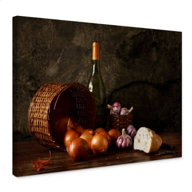 Laercio - Onion Basket Canvas print