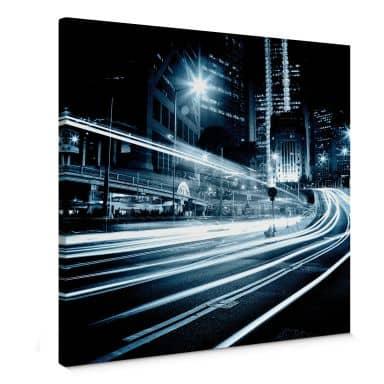 Leinwandbild Lichter der Stadt