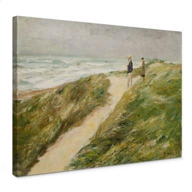 Max Liebermann - On the Beach Canvas print