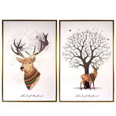 Set Canvas Prints Lord of the Forest