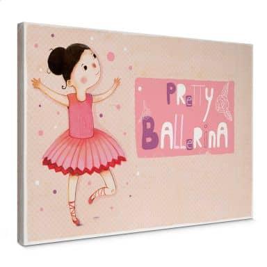 Loske - Pretty Ballerina Canvas print