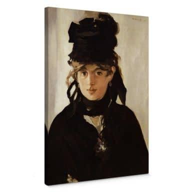 Leinwandbild Manet - Berthe Morisot