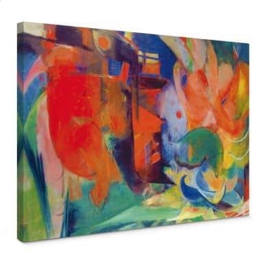 Leinwandbild Marc - Abstrakte Formen II