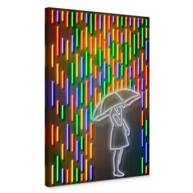 Leinwandbild Mielu - Rain