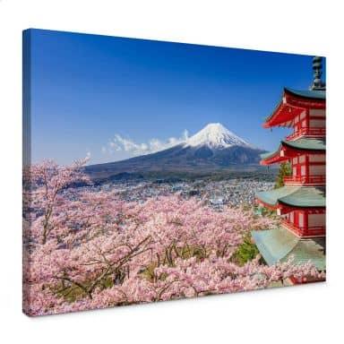 Leinwandbild Mount Fuji