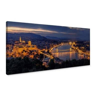 Leinwandbild Mørkeberg - Budapest