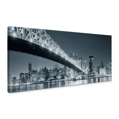 New York at Night 3 Canvas print