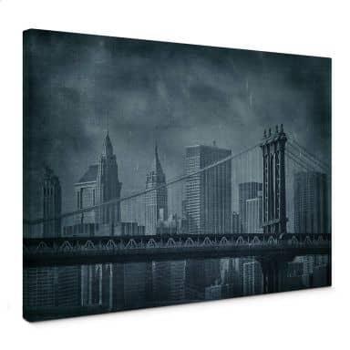 Leinwandbild New York Bridge