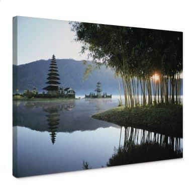 Leinwandbild NG Pura Ulun Danu Bratan Tempel Bali