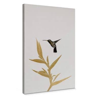 Canvas Orara Studio - Hummingbird and Plant