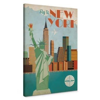 Leinwandbild PAN AM - Fly to New York