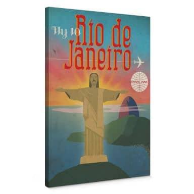 Leinwand  Pan Am - Fly to Rio de Janeiro