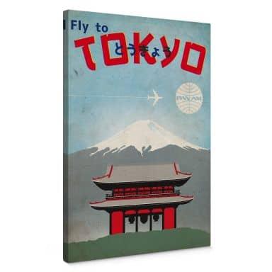 Leinwandbild PAN AM - Fly to Tokyo