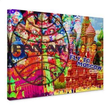Leinwandbild PAN AM - Moskau