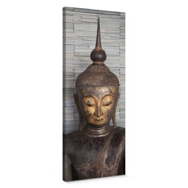 Canvas Thailand Boeddha - Panorama II