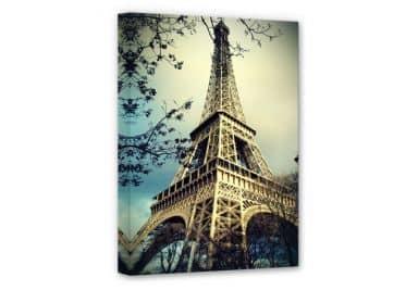 Leinwandbild Poster Glasbild Der Eiffelturm von Paris Fine Art Images