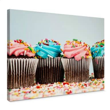 Party Cupcakes Canvas print