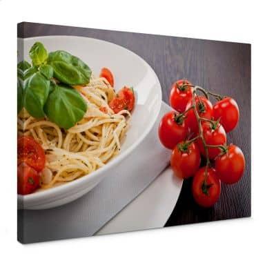 Leinwandbild Pasta Italiana