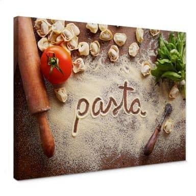Pasta - Tortellini Canvas print