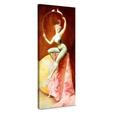 Leinwandbild Penot - Tänzerin mit drei weißen M?