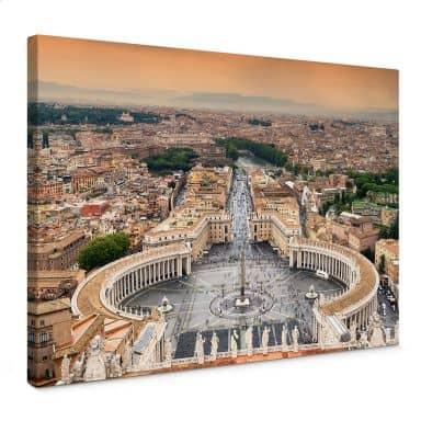 Leinwandbild Hugonnard - Petersplatz Rom