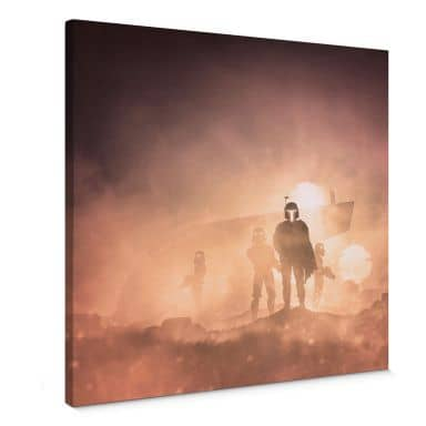 Canvas Del Grosso - Tatooine