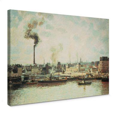 Pissarro - Rouen, Saint-Sever, Morning Canvas print