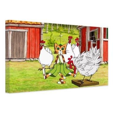 Leinwandbild Pettersson und Findus - Hühnergeschichten