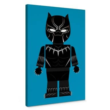 Leinwandbild Gomes - Black Panther Spielzeug