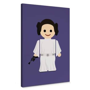 Leinwandbild Gomes - Princess Leia Spielzeug
