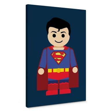 Canvas Print Gomes - Superman toy