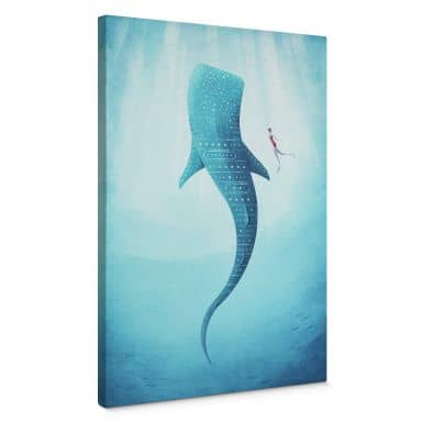 Canvas Rivers - The Whale shark