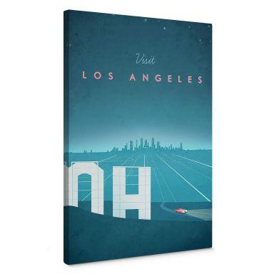 Leinwandbild Rivers - Los Angeles