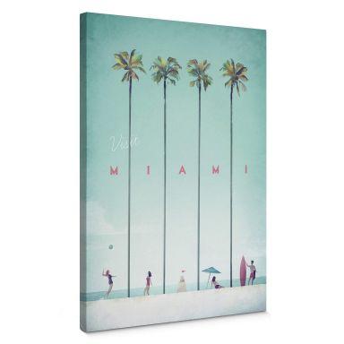 Leinwandbild Rivers - Miami