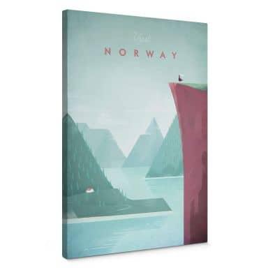 Leinwandbild Rivers - Norwegen